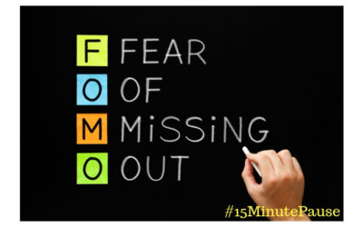 FOMO – Fear Of Missing Out